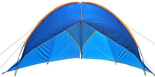ZMJY Camping Carpa, toldo Triangular 2 Metros Altura Exterior más Espacio 5-8 Personas pérgola Fibra de Vidrio Varilla de una Sola Capa para la Familia/Playa: Amazon.es: Deportes y aire libre
