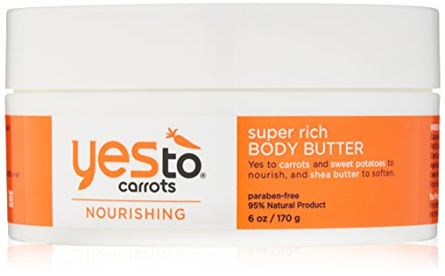 Rich Body Butter - Yes To Carrots Nourishing Super Rich Body Butter, 6 Ounce