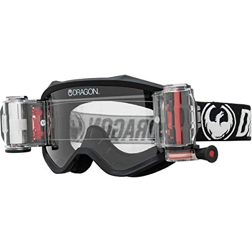 Dragon MXV Rapid Roll Off System Goggles (Coal/Clear Lens)