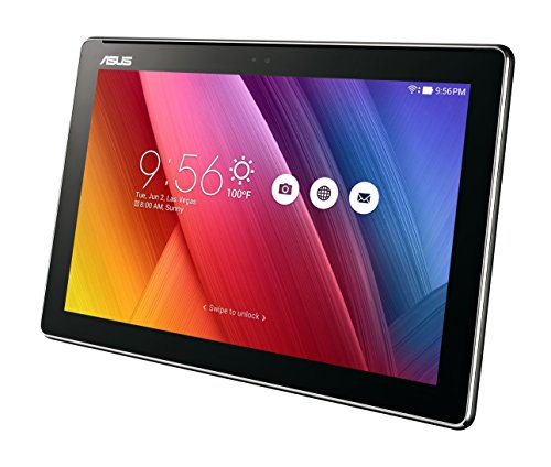 "ASUS ZenPad 10 4 <p>10.1"" WXGA IPS Display (1280 x 800) with ASUS TruVivid technology for better visual experience Powered by Quad Core 1.3 GHz, 64 bit MediaTek MTK 8163B processor Easily handle and speed up productivity with 4680 mAh battery, 2GB RAM, 16GB storage 5M/2M Dual Camera; 1 x microSD Card slot, support up to 128GB SDXC Android 7.0 OS; Free 100GB of Google drive storage for 1 year</p>"