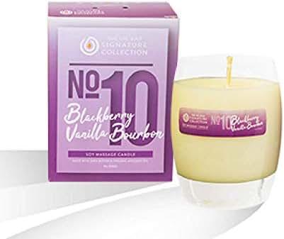 The Oil Bar No.10 Blackberry Vanilla Bourbon Soy Massage Candle