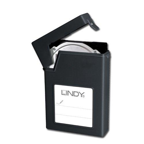 Lindy - Carcasa para disco duro externo de (6,35 cm), color ...
