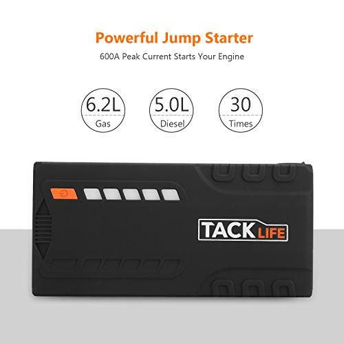 TACKLIFE Car Jump 16500mAh, Auto Jumper, , Portable Power Pack Truck, Certified
