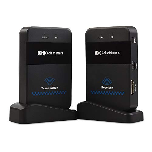 Cable Matters Wireless HDMI Extender/Wireless HDMI Transmitt