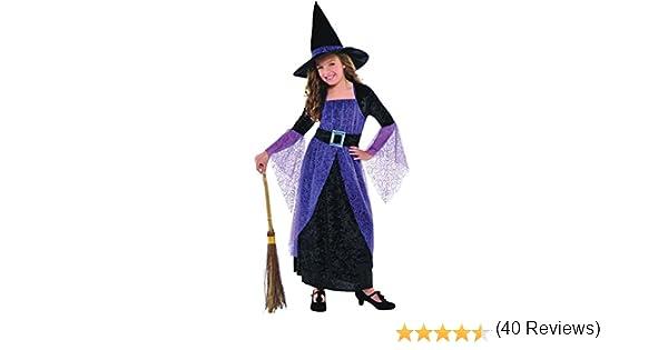 Bonito disfraz de bruja Christys Girls (4-6 años): Amazon.es ...