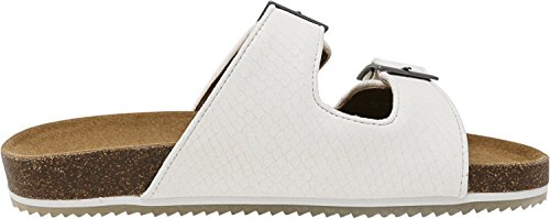 Bearpaw Womens Brooklyn Sandalen Witte Slang