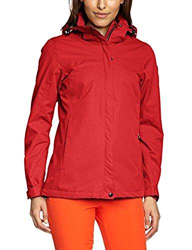 bretelle Rosso con rimovibili e Killtec Chiaro rinforzati softshell bordi Pantaloni donna q4wcWFzSI