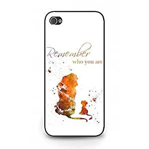 Iphone 5/5s Contracted Phone Case Cartoon The Lion King Theme Phone Case