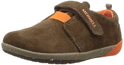 Merrell Boys' Bare Steps Sneaker, brown 9 Medium US ()