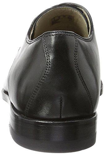Clarks Twinley Lace, Zapatos de Vestir para Hombre Negro (Black Leather)