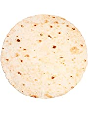 QCZJ Burrito Tortilla Novelty Deken Bed Throw, Reuze Ronde Menselijke Burrito Tortilla Gooi Voedsel Creatie Deken, Zachte Fleece Comfort Draagbare Pluche Handdoek voor Volwassenen en Kinderen
