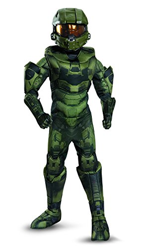 Master Chief Prestige Costume, Small (4-6) - Halo 4 Master Chief Costumes