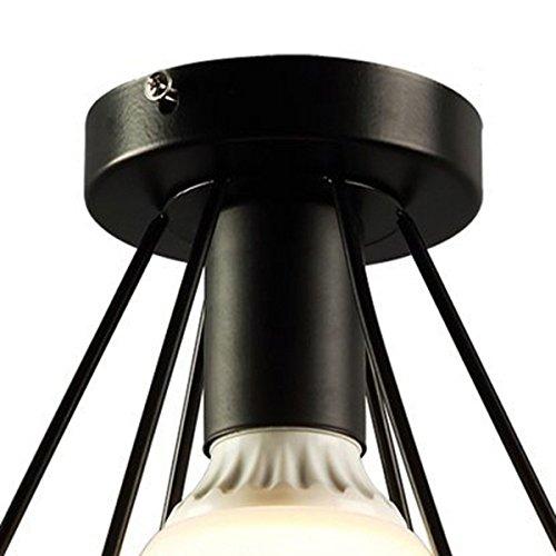 toogoo plafonnier rustique industriel de bati affleurant. Black Bedroom Furniture Sets. Home Design Ideas