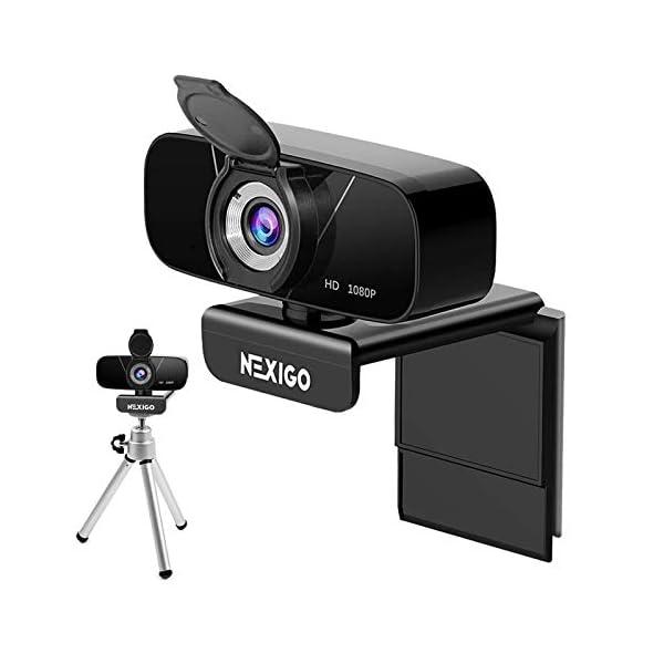 NexiGo AutoFocus 1080p Webcam