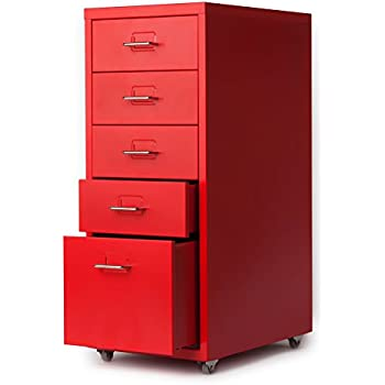 Amazon Com Ikayaa Office Metal File Cabinet 3 Drawer