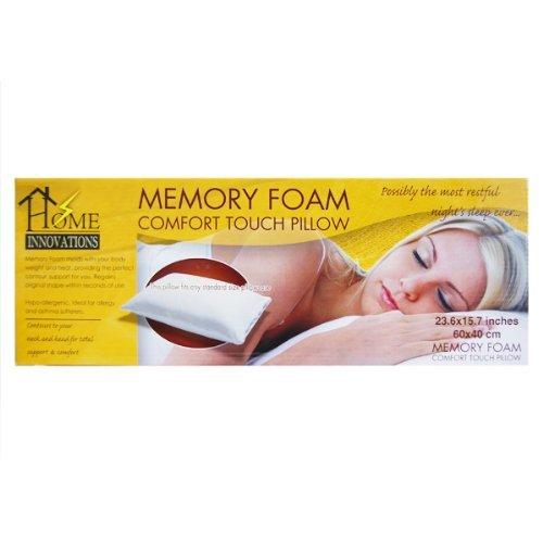 "Home Innovations Memory Foam Pillow - 23.6"" x 15.7"""