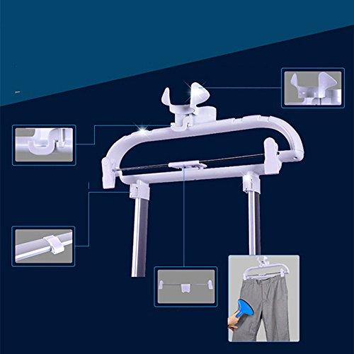 QFFL Vapeur Vapeur Vertical 9 vapeur vapeur 2000W / 2L hang machine chaude violet 40 * 25 * 20cm Défroisseur