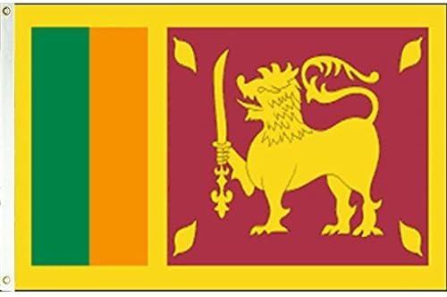 3 x 5 bandera de Sri Lanka República Banner Pennant por Vista de Ceilán banderas: Amazon.es: Hogar
