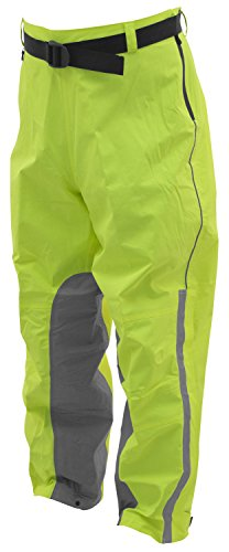 Silver Liner Jacket - Frogg Toggs Nth85106 ToadSkinz Reflective Rain Pant with Heat Resistive Inner Leg Liners, Hivis Green Silver, Lg