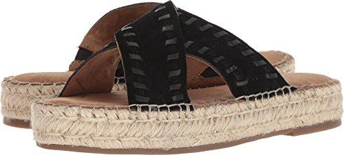 Sandals Aerosoles Suede (Aerosoles Women's Rose Gold Sandal, Black Suede, 9.5 M US)