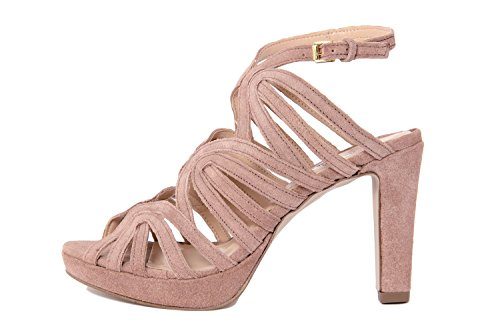 Arnaldo Toscani FEMME - sandale à talon en cuir - 8010706_CALF_MOUSSE_PUDER_TS