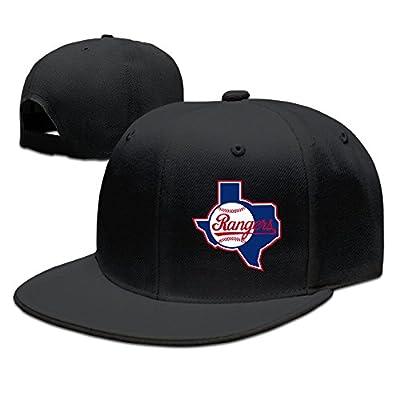LALayton Unisex Texas Ranger Baseball Exquisite Pure Cotton Child Baseball Cap - Black