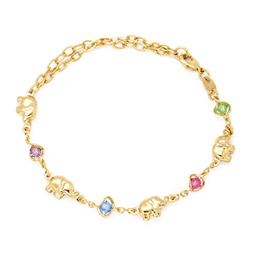 JEWELRY PARADISE Elephant & Multi-Color Birthstone for sale  Delivered anywhere in USA