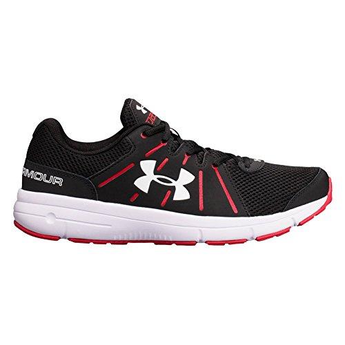 Under Armour Ua Dash Rn 2, Chaussures de Running Homme, Noir (Black), 46 EU