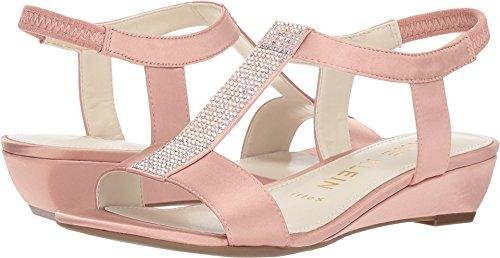 Anne Klein Women's Molly Light Pink Satin 5 M US