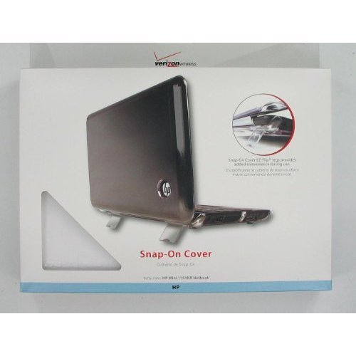 Wireless Solutions Plus HP1151COVC Snap-On Netbook Case (Clear) - Custom Designed to Fit HP Mini Notebook 1151NR