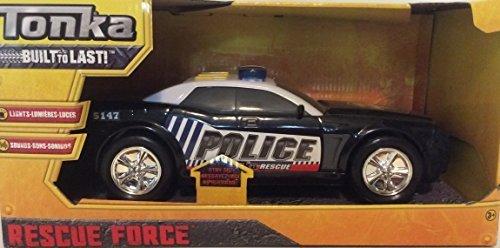 Tonka Rescue Force Lights and Sounds Police Car (Lights Tonka)
