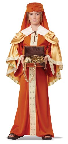 3 Kings Costume (California Costumes Gaspar of India Child Costume, X-Large)