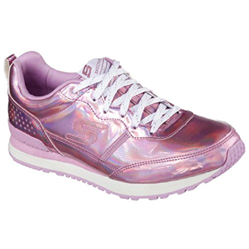 Skechers Retrospect Ladies Retros Pink Fashion Trainers Womens q6rFqgnx7P