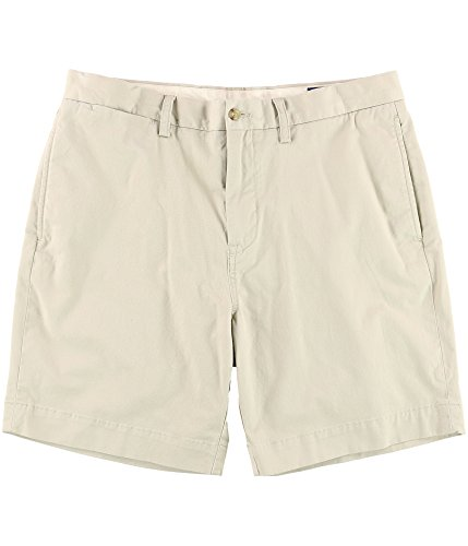 Shorts Polo Chino (Polo Ralph Lauren Mens Classic Fit Chinos Shorts Beige 42)