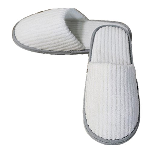 Striped Non House Indoor Unisex Slippers 5 Pairs Bumud Slippers Disposable Skid qAP1Xf