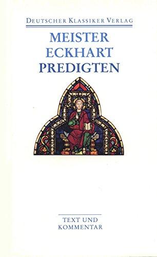 Predigten: Werke 1