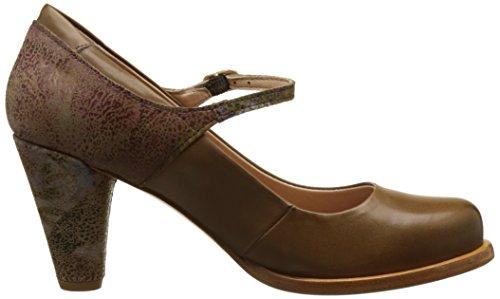 Neosens S930 Fantasy-Restored Skin Floral Taupe Beba, Zapatos de Tacón con Punta Cerrada para Mujer Marrón (Floral Taupe)