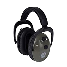 Motorola MHP71 Talkabout Electronic Earmuff with PTT Microphone Cable (Hunter green)