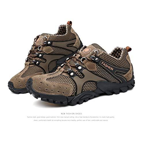 slip Montagne Automne Chaussures Air Sport 2017 En Hiver Tissu Hommes Respirant Randonnée Semelle Caoutchouc Maille Anti Comfortale Plein THBqOp
