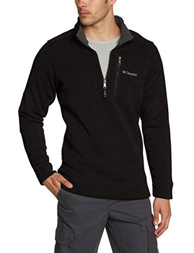 Columbia Men's Terpin Point II Half Zip, Black, Large