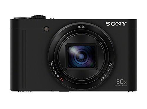 """Sony Cyber-Shot DSC-WX500 - Cámara compacta DE 18 MP con Pantalla de 3"""" y Sensor Exmor R, Color Negro: SONY"""