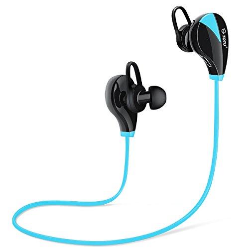 Wireless Sport Bluetooth Headphone (Blue) - 2