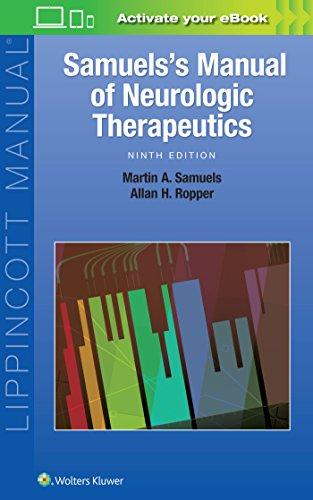 Samuels's Manual of Neurologic Therapeutics - http://medicalbooks.filipinodoctors.org