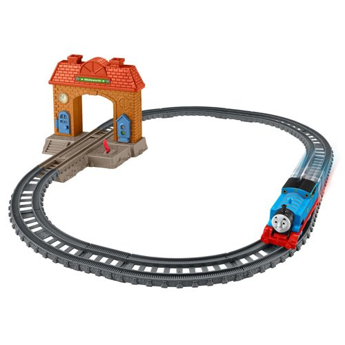 Fisher-Price Thomas The Train TrackMaster Station Starter Set (Station Train Set)