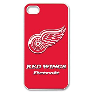 Custom Detroit Red Wings Case for iPhone 4 4s