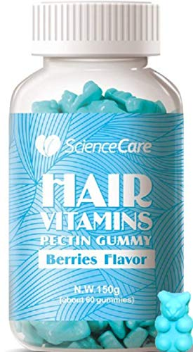 Hair, Skin, Nails Biotin Gummies (1 MONTH) Vitamin Bears to Grow & Strengthen All Hair Types - Multivitamins w/Natural Ingredients - For Men & Women of all Ages - Gluten ()