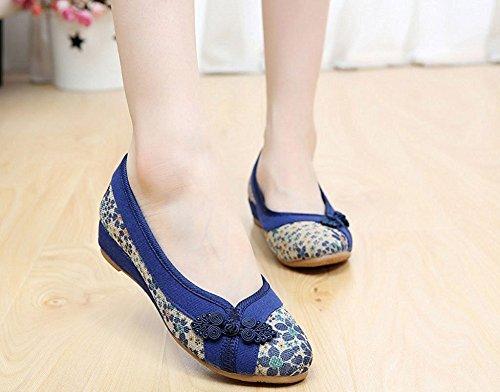 Bailarinas Mujer Lazutom Bailarinas Azul Lazutom Para E6gw7q