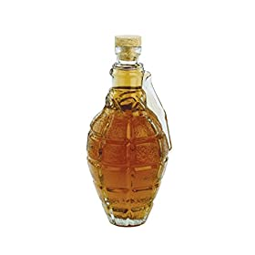 Barbuzzo Grenade Decanter with Cork Stopper &#8211...