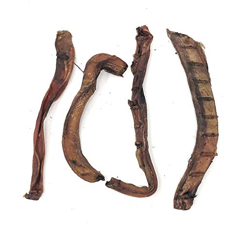100% All Natural Beef Bully Sticks- Premium Grass Fed Beef Dog Chews- Smoked, Healthy Bully Sticks – Sourced and Made in The USA- No Additives or Artificial Preservatives- 12 Pack of 6-8 Inch Sticks by Jack's Premium (Image #4)