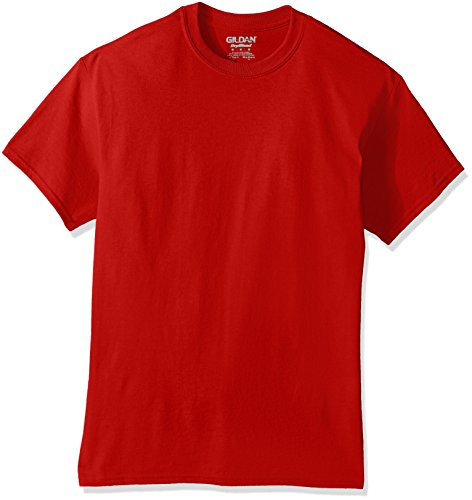 Gildan Men's DryBlend Classic T-Shirt, Red, X-Large